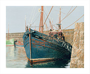 Trawler Metal Prints - The Rose Metal Print by Robert Boyd