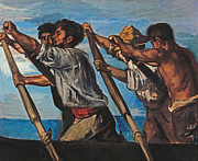 Famous Artists - The Rowers by Hans von Marees