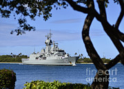 Royal Australian Navy Prints - The Royal Australian Navy Anzac-class Print by Stocktrek Images