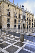 Historic Streets Posters - The Royal Chancery of Granada Poster by Guido Montanes Castillo