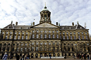 Amsterdam Digital Art - The Royal Palace by Pravine Chester