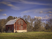 Wisconsin Barn Posters - The Royalton Farm Poster by Thomas Young