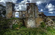 Old Building Framed Prints - The Ruins Framed Print by Marco Oliveira