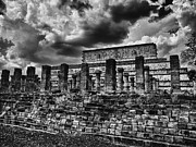 Serpents Framed Prints - The Ruins of Chichen Itza Framed Print by Douglas Barnard