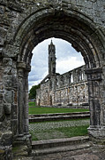 Roman Ruins Posters - The ruins of St Andrews Cathedral Poster by RicardMN Photography