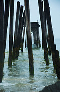 Pier Digital Art - The Ruins of the 59th Street Pier  by Bill Cannon