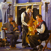 Waltz Paintings - The Russet Trio by Kenneth Young