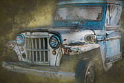 Offroad Prints - The Rusty Bucket Print by Heiko Koehrer-Wagner