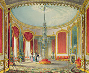 The Saloon In Its Final Phase Print by John Nash