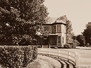 Kentucky Horse Park Photo Prints - The Salyers House Lexington Kentucky Print by Deborah Fay
