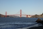 Historic Bridges Art Prints - The San Francisco Golden Gate Bridge - 5D20996 Print by Wingsdomain Art and Photography