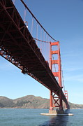 Steel Construction Prints - The San Francisco Golden Gate Bridge 5D21613 Print by Wingsdomain Art and Photography
