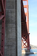 Steel Construction Prints - The San Francisco Golden Gate Bridge 5D21620 Print by Wingsdomain Art and Photography