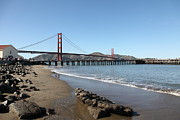 San Francisco Bay Prints - The San Francisco Golden Gate Bridge 5D21716 Print by Wingsdomain Art and Photography