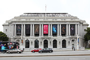 San Francisco Opera House Prints - The San Francisco War Memorial Opera House - San Francisco Ballet 5D22478 Print by Wingsdomain Art and Photography