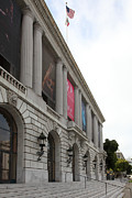 Ballet Art Prints - The San Francisco War Memorial Opera House - San Francisco Ballet 5D22585 Print by Wingsdomain Art and Photography