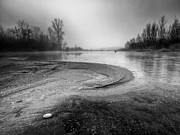 White River Photos - The sands of time by Davorin Mance