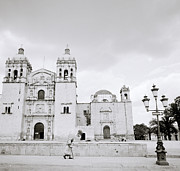 Lady Of Solitude Church Prints - The Santo Domingo Print by Shaun Higson