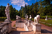 Jenny Rainbow - The satutues of Archangelskoe Palace. Russia