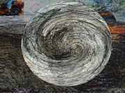 Puerto Rico Mixed Media Originals - The Saucer #1 / El Platillo #1 by Miguel Conesa Osuna