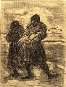 The Savior Print by Helena Bebirian