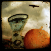 Scale Digital Art Posters - The Scale a Halloween Scene Poster by Gothicolors And Crows