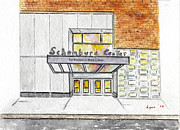 Harlem Paintings - The Schomburg by Lynn Lieberman
