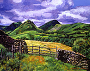 Scotland Paintings - The Scottish Highlands by David Lloyd Glover