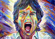 Singer Painting Originals - The Scream by To-Tam Gerwe