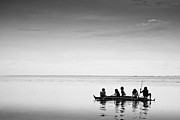 Minimalism Photo Originals - The Sea Gypsy by Mohd Shukur Jahar