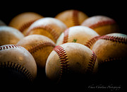 Baseball Seams Photo Metal Prints - The seams  Metal Print by Chase Redl