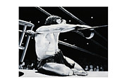 Kick Boxing Prints - The Seat Print by Mike Walrath