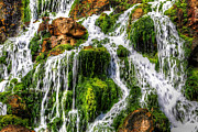 Nigel Hamer Photos - The Seawater Waterfall by Nigel Hamer