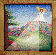 Featured Tapestries - Textiles - The Second Blessing by Christina Hauswald