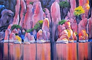 Watson Lake Painting Prints - The Secret Cove Print by Robert Hooper