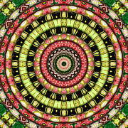 Kaleidoscope Art - The Secret Garden by Wendy J St Christopher