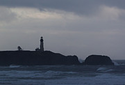 Yaquina Head Lighthouse Photos - The Sentinel by John Daly