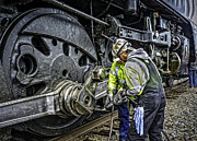 Boiler Photos - The Servicing of UNION PACIFIC 844 by F Leblanc