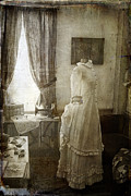 Dressing Room Metal Prints - The Sewing Room Metal Print by Cindi Ressler