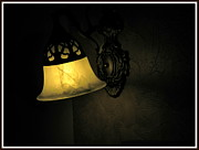 Lamp Ceramics Acrylic Prints - The shadow Acrylic Print by Utkarsh Maheshwari