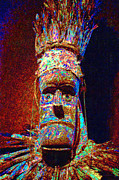 Spooky Digital Art - The Shaman 20130201p0 by Wingsdomain Art and Photography