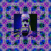Voodoo Digital Art - The Shaman Window 20130201m128 by Wingsdomain Art and Photography