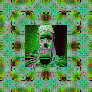Voodoo Digital Art - The Shaman Window 20130201p100 by Wingsdomain Art and Photography