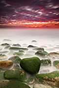 Rocks Prints - The shape of my heart Print by Jorge Maia