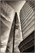 Lenny Carter Framed Prints - The Shard - The View Framed Print by Lenny Carter