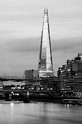 London Skyline Digital Art Prints - The Shard Print by Keith Thorburn