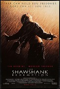 Vintage Posters Art - The Shawshank Redemption Poster by Sanely Great