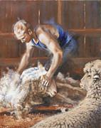 The Shearing Print by Mia DeLode