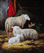 Lin Custodis - The sheepfold