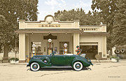 Pumps Originals - The Shell station by Roger Beltz